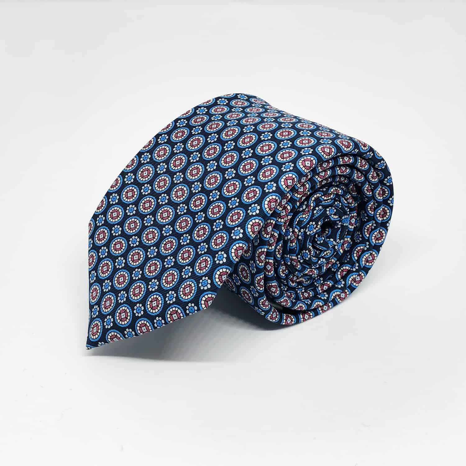 Tie blue/red front